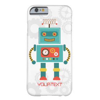 Cute Funny Robot Science Fiction iPhone 6 Case