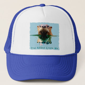 Cute, Funny SEA OTTER Hat