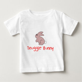 Cute Funny Snuggle Bunny Baby T-Shirt