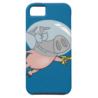 cute funny space pig cartoon iPhone SE/5/5s case