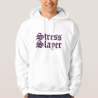 Cute Funny Stress Slayer Massage Therapist LMT T-Shirt