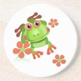 Cute Funny Tree Frog Coasters