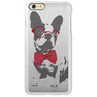 Cute funny trendy vintage animal French bulldog Incipio Feather Shine iPhone 6 Plus Case