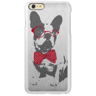 Cute funny trendy vintage animal French bulldog Incipio Feather® Shine iPhone 6 Plus Case
