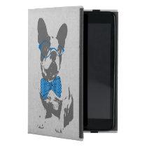 Cute funny trendy vintage animal French bulldog iPad Mini Case