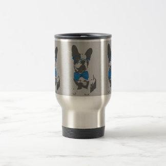 Cute funny trendy vintage animal French bulldog Coffee Mugs