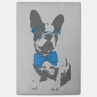 Cute funny trendy vintage animal French bulldog Post-it Notes