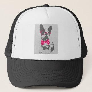 Cute funny trendy vintage animal French bulldog Trucker Hat