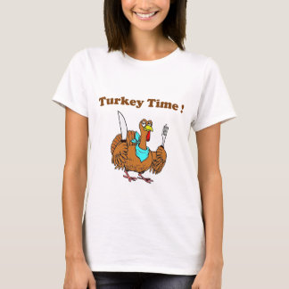 Cute Funny Turkey Thanksgiving T-Shirt