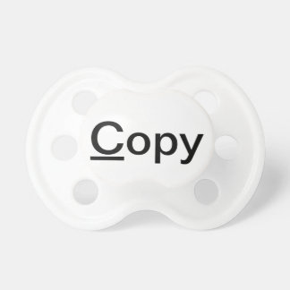 Cute Funny Twin Babies Copy and Paste Binky Pacifier