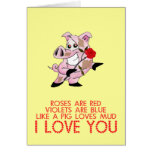 Cute funny Valentine's day Card