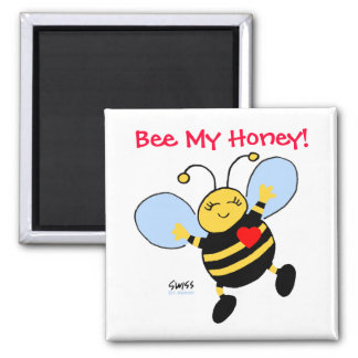Cute Funny Valentine's Day Fridge Magnet