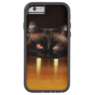 Cute, funny, vampire cat tough xtreme iPhone 6 case