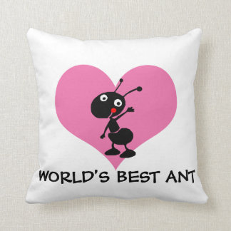 cute funny world's best aunt pillows