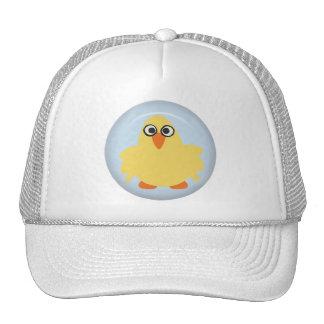 CUTE FUNNY YELLOW BLUE BABY CHICK FARM CARTOON PET HATS