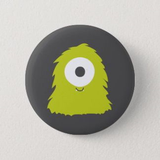Cute Furry Monster Badge Pinback Button