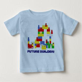 Cute FUTURE BUILDER Design w/  -Style Blocks Baby T-Shirt