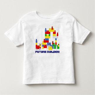 Cute FUTURE BUILDER Design w/ -Style Blocks Tee Shirt
