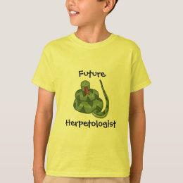 Cute Future Herpetologist Snake Lover Kids T-Shirt