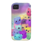 Cute fuzzies iPhone 4 covers