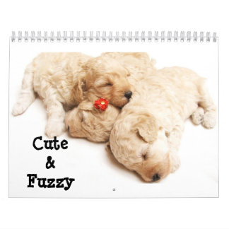 Cute & Fuzzy Calendar