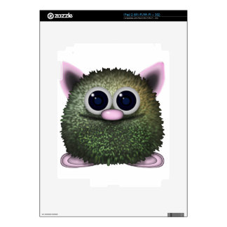Cute Fuzzy Cartoon Wuzzy Butt Character Skins For The iPad 2