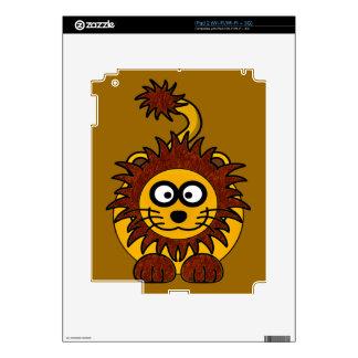 Cute Fuzzy Lion iPad 2 Skin