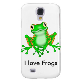 Cute Galaxy S4 Frog Cover Samsung Galaxy S4 Cases