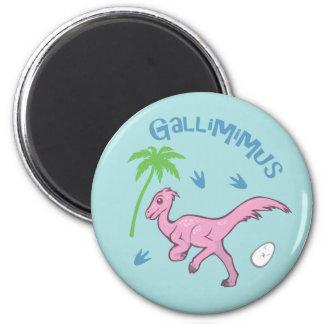 Cute Gallimimus Magnet