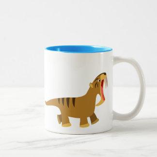 Cute Gaping Mouth Thylacosmilus Mug