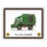Cute Garbage Truck Trash Truck Announcement