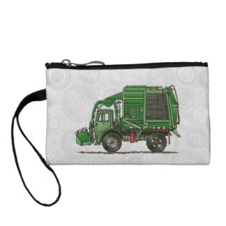Cute Garbage Truck Trash Truck Coin Purse