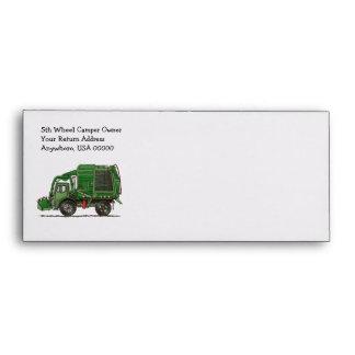 Cute Garbage Truck Trash Truck Envelope