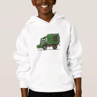 Cute Garbage Truck Trash Truck Hoodie