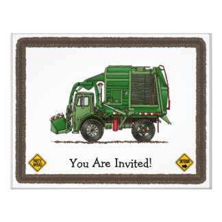 Cute Garbage Truck Trash Truck Announcement