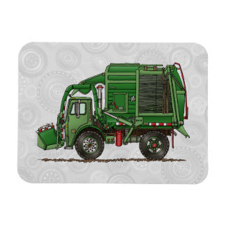 Cute Garbage Truck Trash Truck Magnets