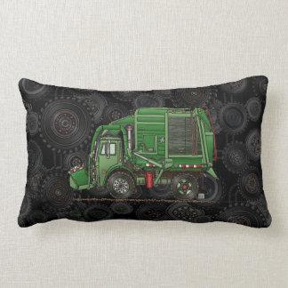 Cute Garbage Truck Trash Truck Throw Pillow