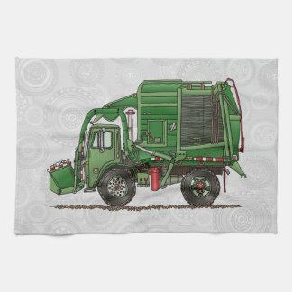 Cute Garbage Truck Trash Truck Towels