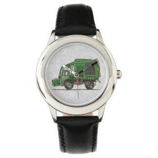 Cute Garbage Truck Trash Truck Wristwatch