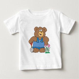 Cute Gardening Bear Baby T-Shirt