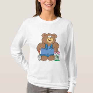 Cute Gardening Bear T-Shirt