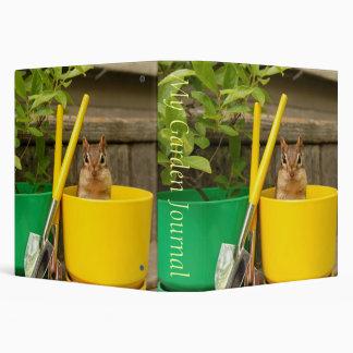 """Cute Gardening Chipmunk 1.5"""" Photo Album Binder"""
