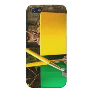 Cute Gardening Chipmunk Case For iPhone SE/5/5s
