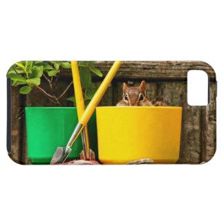 Cute Gardening Chipmunk iPhone SE/5/5s Case