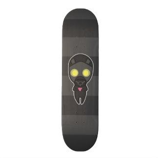 Cute Gas Mask Guy with Heart Skateboard Decks