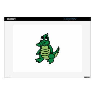 Cute Gator Skin For Laptop