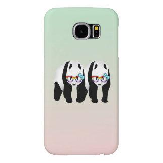 Cute Gay Pride Pandas Samsung Galaxy S6 Case