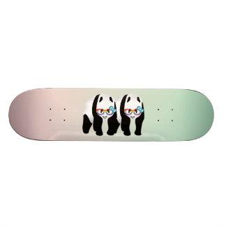 Cute Gay Pride Pandas Skateboard Deck