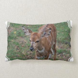 Cute Gazelle Throw Pillow