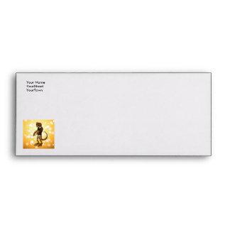 Cute gecko envelopes